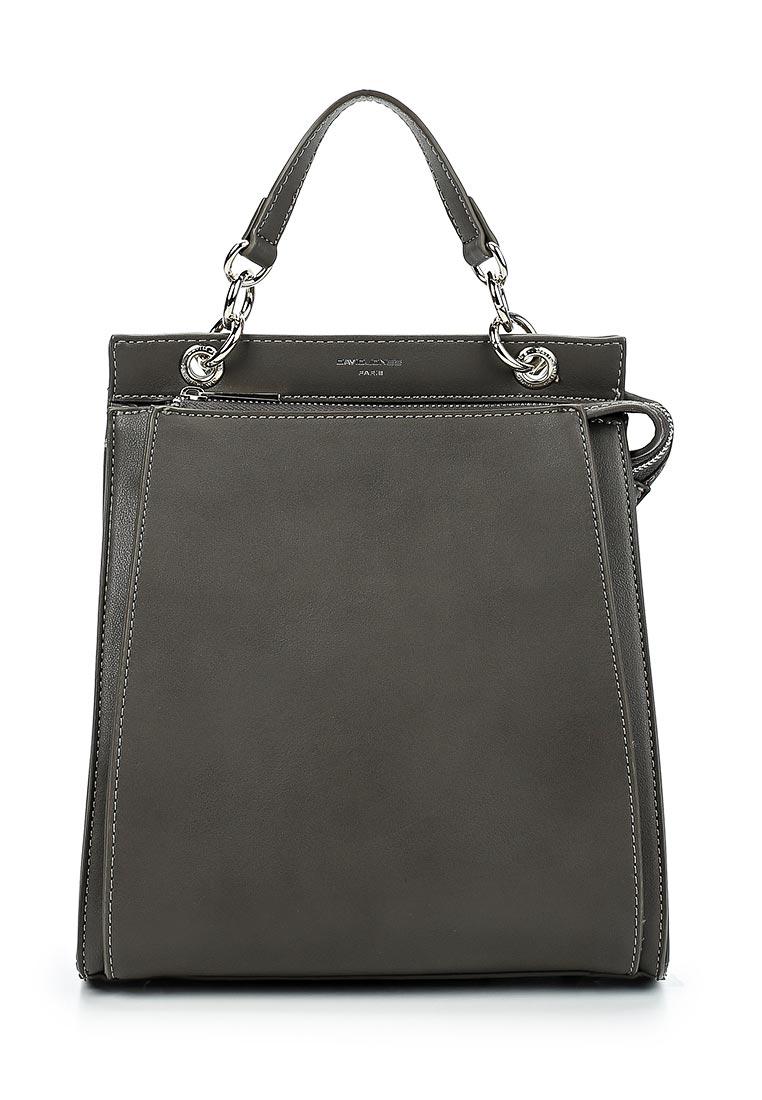 Городской рюкзак David Jones (Дэвид Джонс) 5654-2_серый