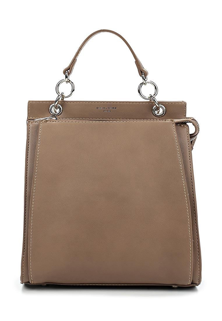 Городской рюкзак David Jones (Дэвид Джонс) 5654-2_кэмел