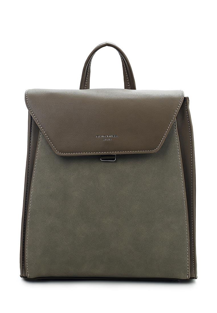 Городской рюкзак David Jones (Дэвид Джонс) 5658-2_зеленый