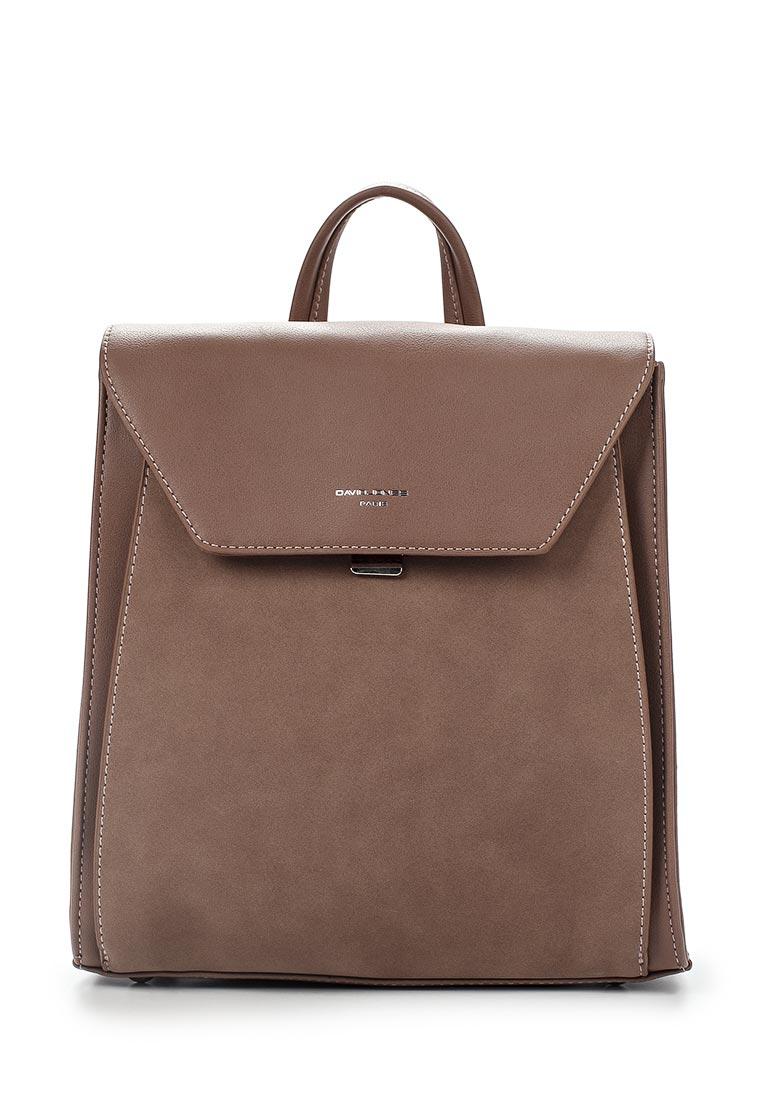 Городской рюкзак David Jones (Дэвид Джонс) 5658-2_розовый