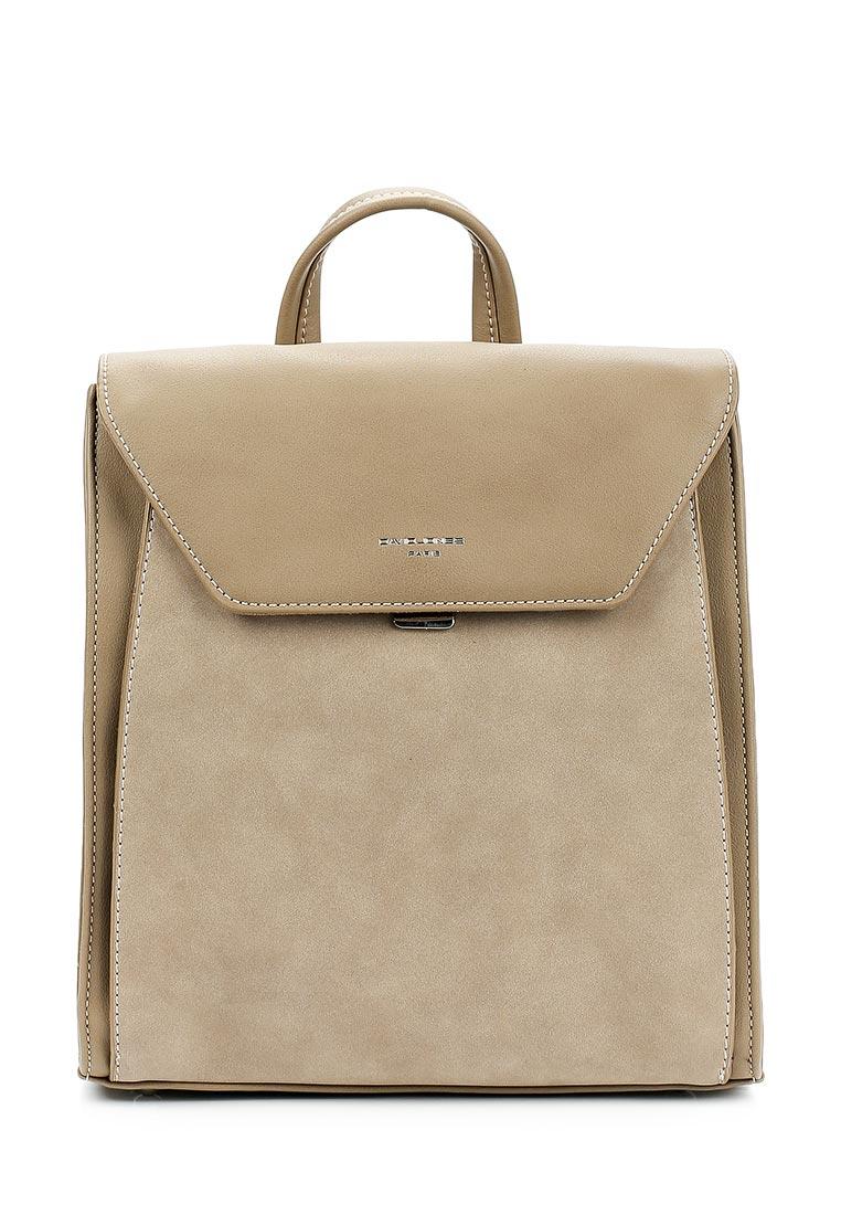 Городской рюкзак David Jones (Дэвид Джонс) 5658-2_кэмел