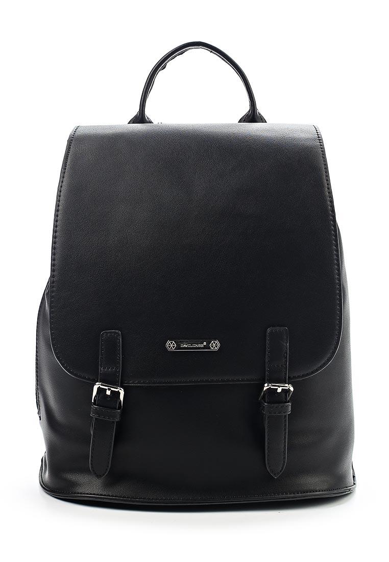 Городской рюкзак David Jones (Дэвид Джонс) CM3640_черный