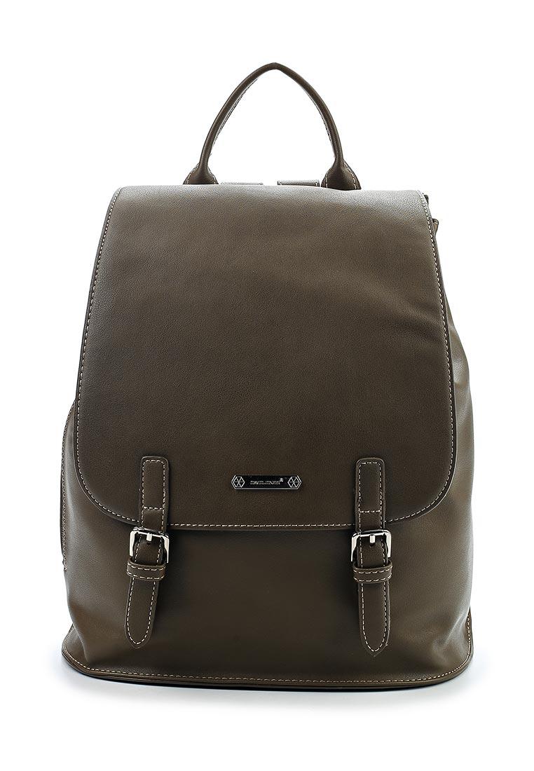 Городской рюкзак David Jones (Дэвид Джонс) CM3640_зеленый