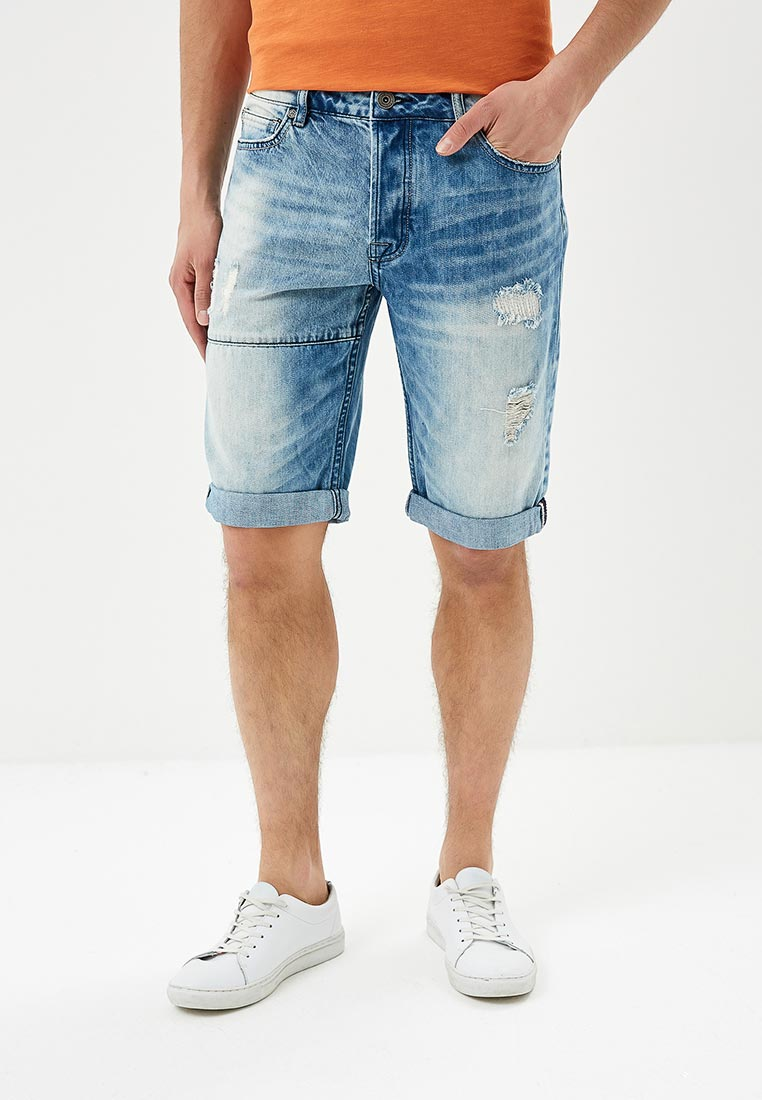 Мужские джинсовые шорты Desigual (Дезигуаль) 18SMDD08