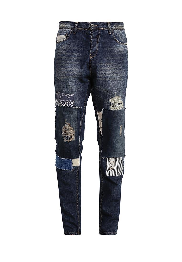 Мужские прямые джинсы Desigual (Дезигуаль) 67D18A3