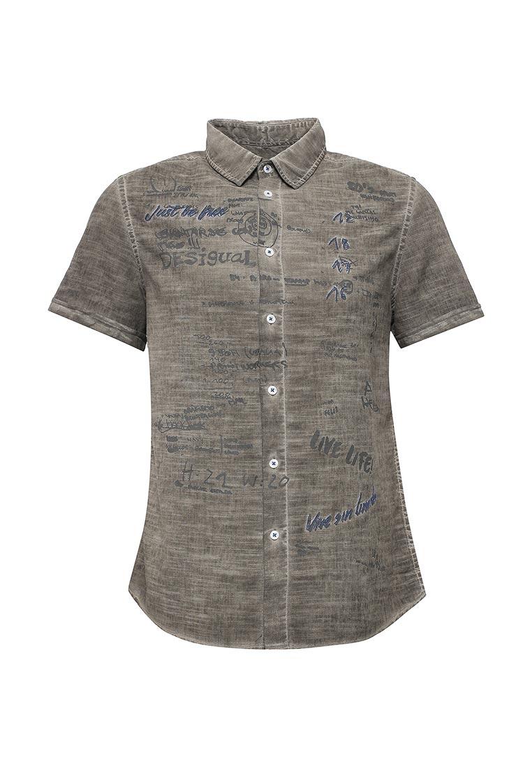 Рубашка с коротким рукавом Desigual (Дезигуаль) 72C12K3