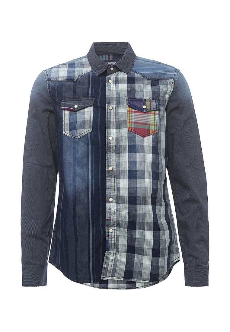 Рубашка с длинным рукавом Desigual (Дезигуаль) 72C12K4