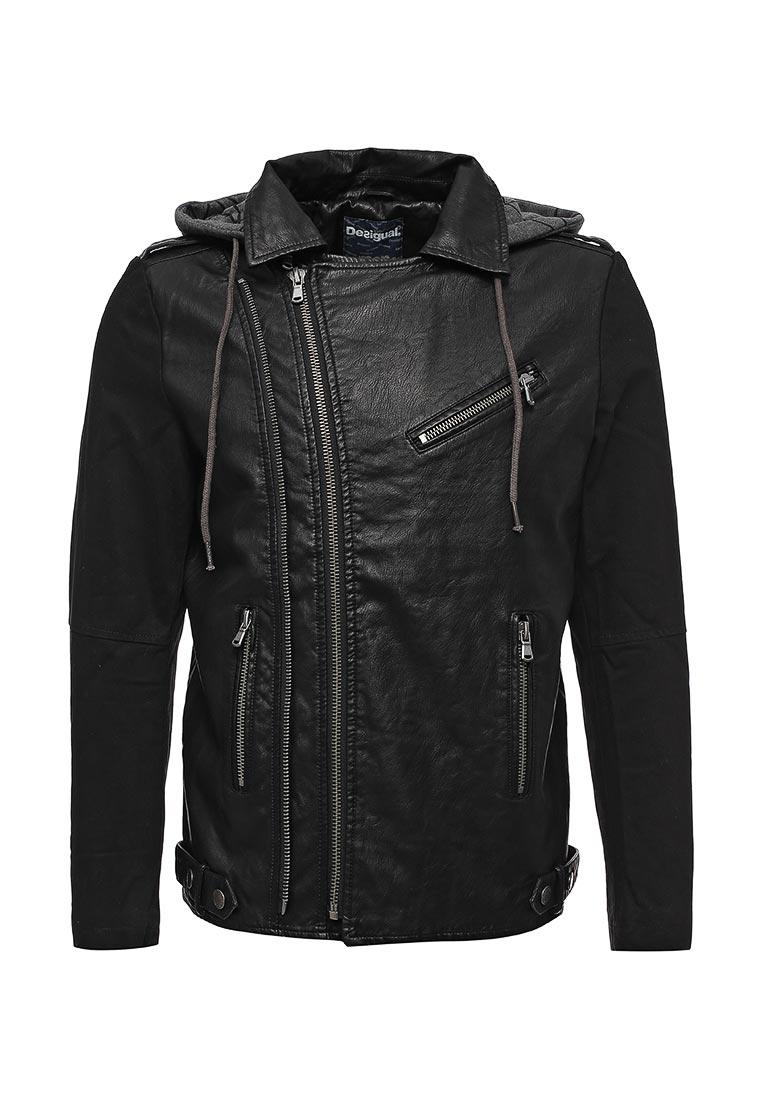 Кожаная куртка Desigual (Дезигуаль) 17WMEW06
