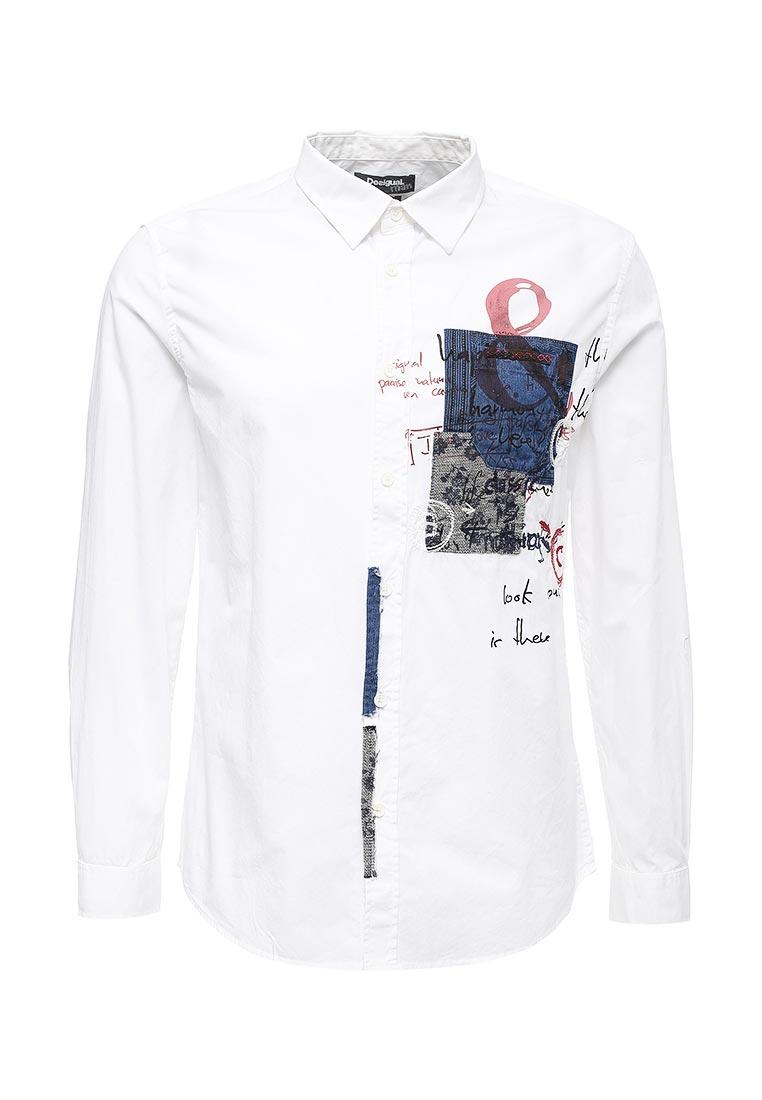 Рубашка с длинным рукавом Desigual (Дезигуаль) 17WMCWA4