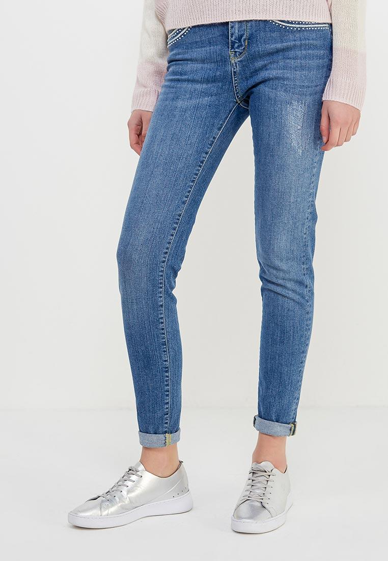 Зауженные джинсы Desigual (Дезигуаль) 18SWDD19