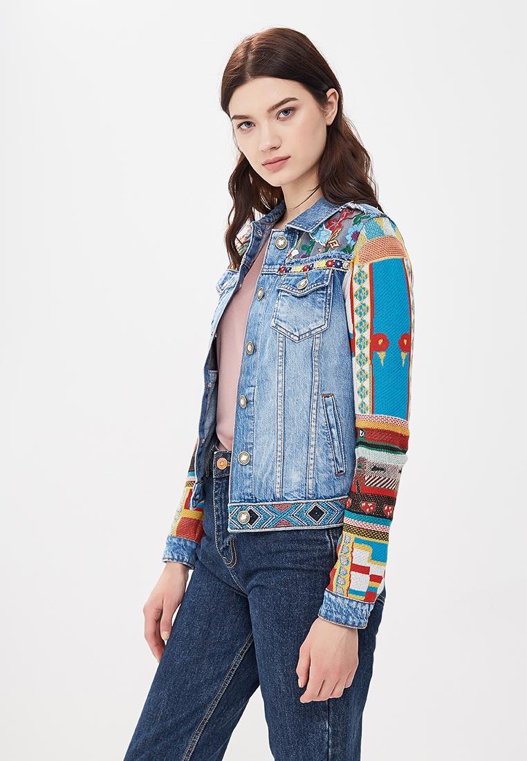 Джинсовая куртка Desigual (Дезигуаль) 18SWED35