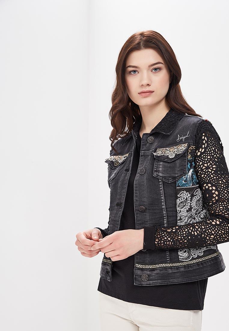 Джинсовая куртка Desigual (Дезигуаль) 18SWEN14