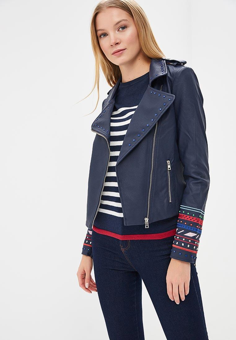 Кожаная куртка Desigual (Дезигуаль) 18SWEW48