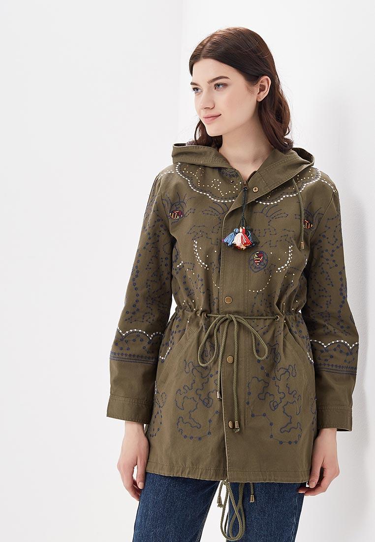 Утепленная куртка Desigual (Дезигуаль) 18SWEW60