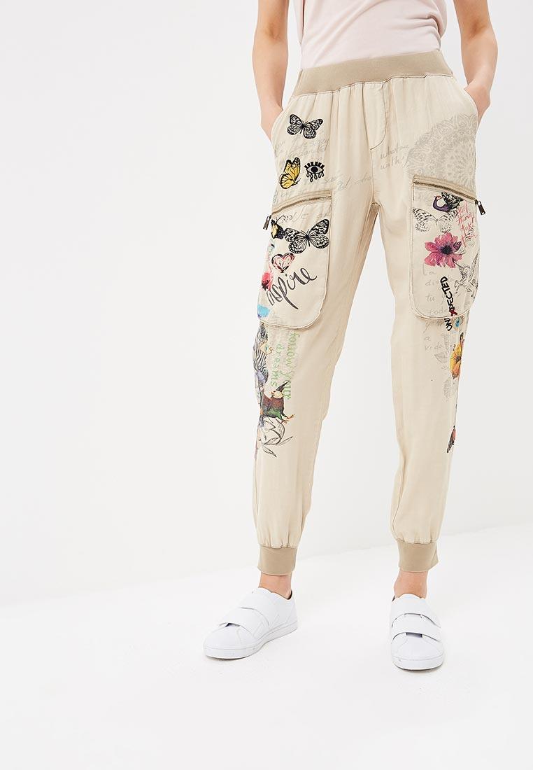 Женские зауженные брюки Desigual (Дезигуаль) 18SWPW06