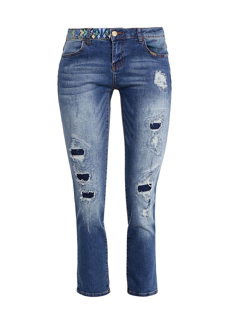 Зауженные джинсы Desigual (Дезигуаль) 72D2JE3