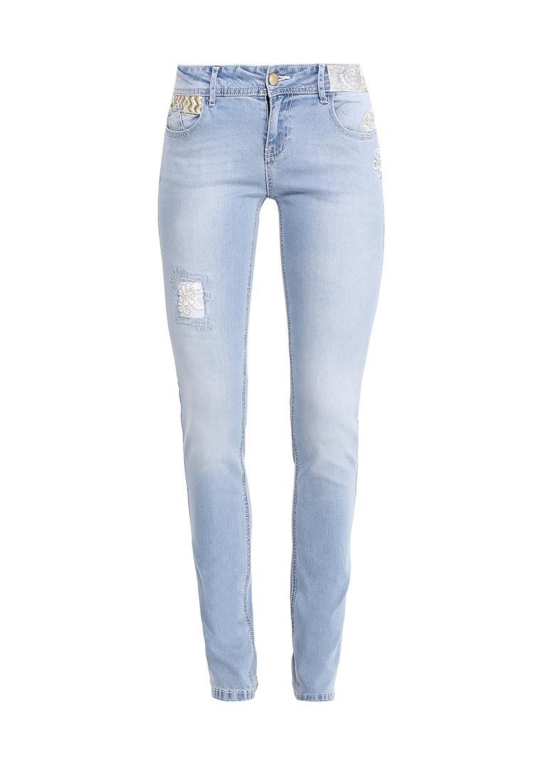 Зауженные джинсы Desigual (Дезигуаль) 72D2JF1