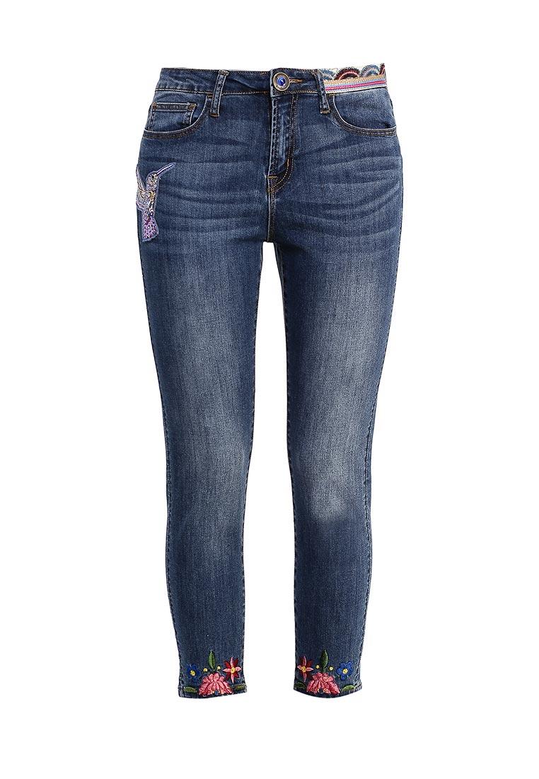 Зауженные джинсы Desigual (Дезигуаль) 73D2JE7
