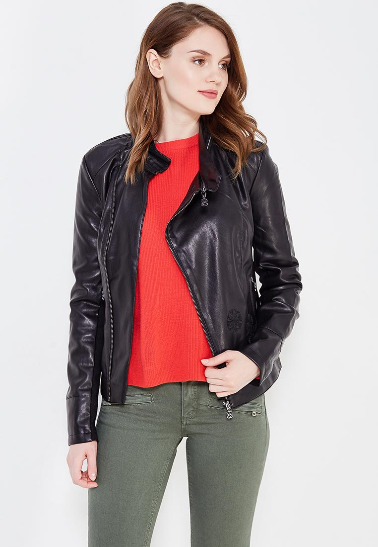 Кожаная куртка Desigual (Дезигуаль) 17WWEWA9
