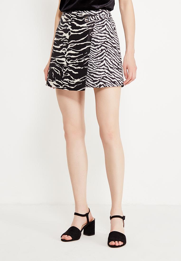 Прямая юбка Desigual (Дезигуаль) 17WWFW02