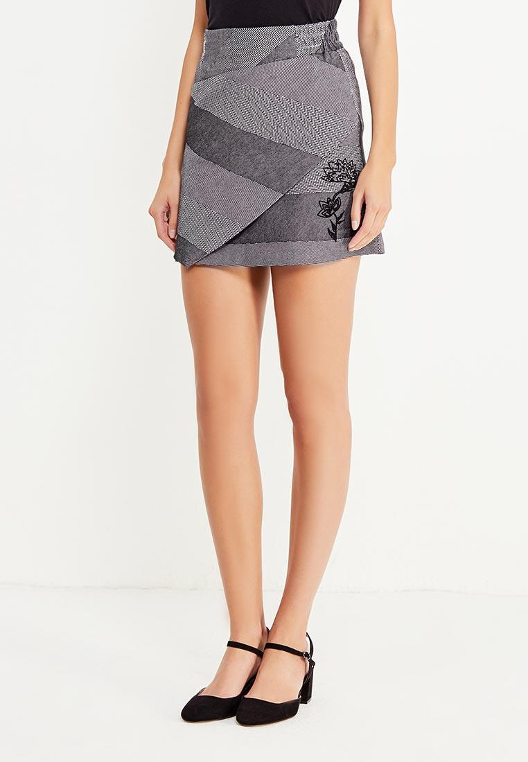 Прямая юбка Desigual (Дезигуаль) 17WWFW08