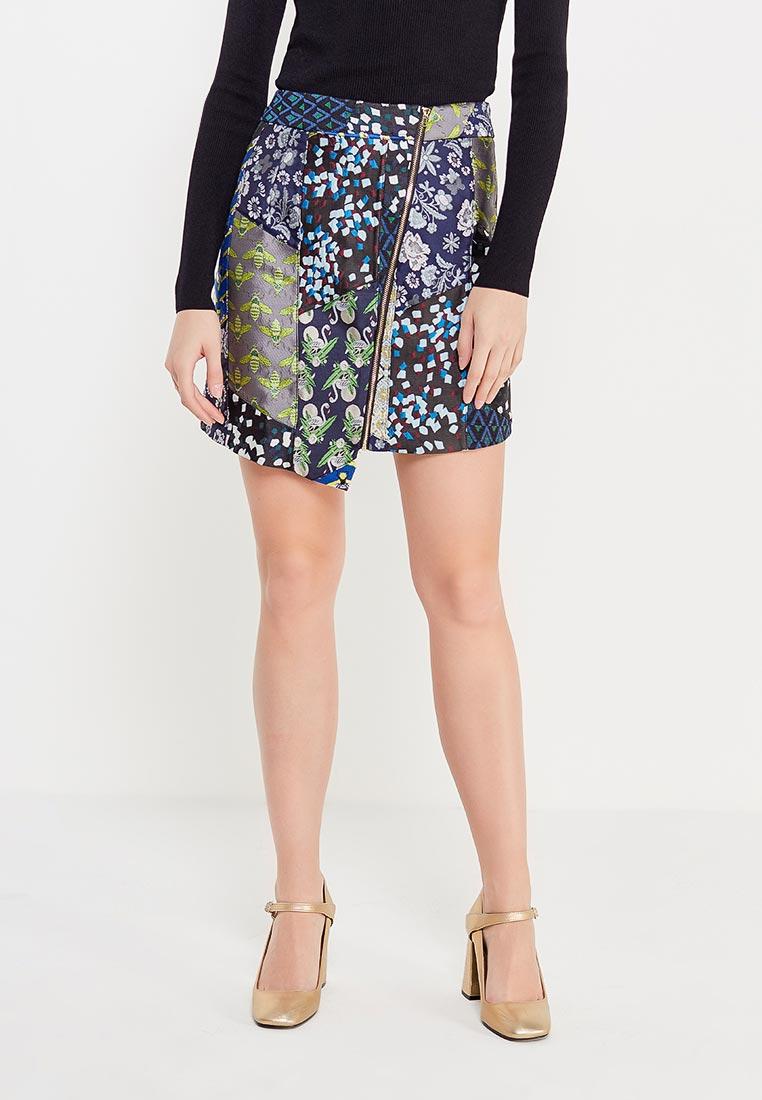 Прямая юбка Desigual (Дезигуаль) 17WWFW14
