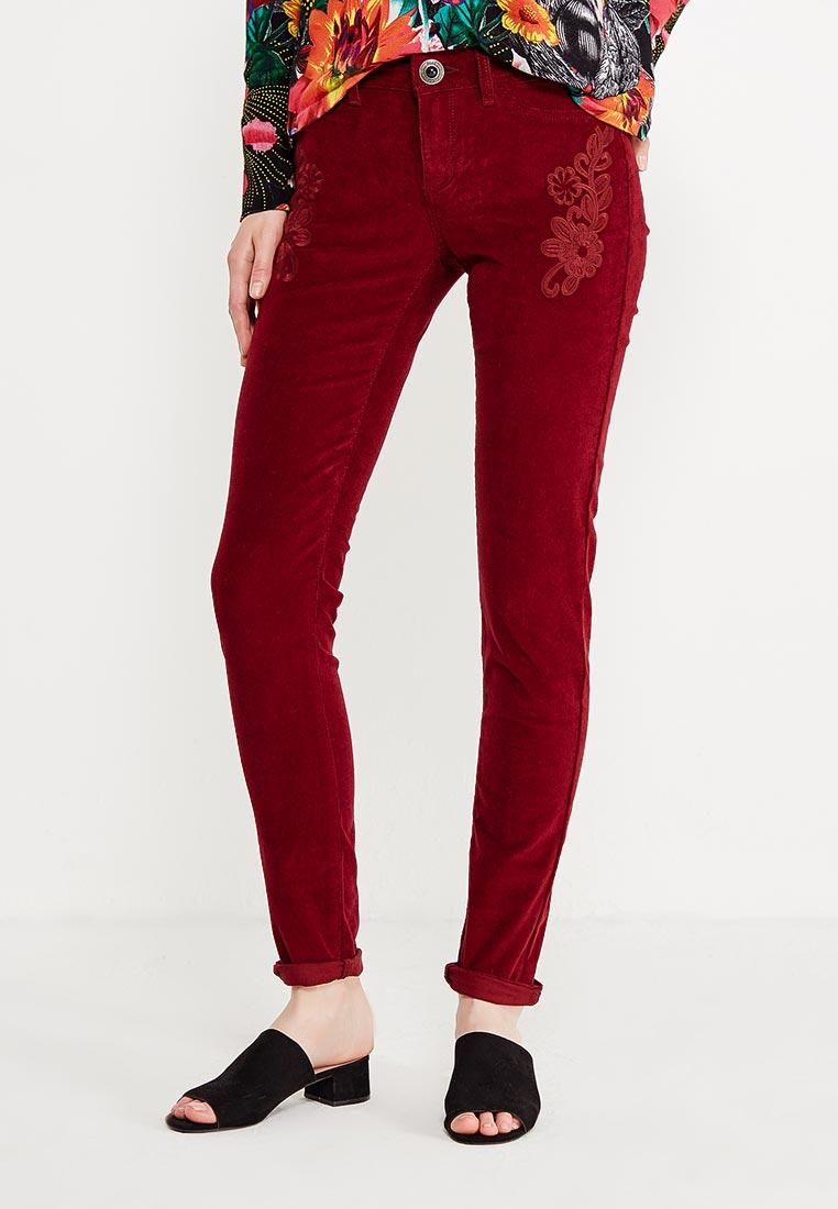 Женские зауженные брюки Desigual (Дезигуаль) 17WWPN26