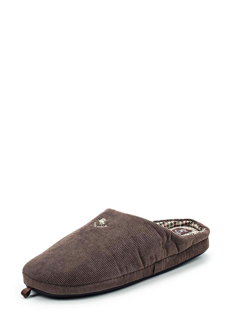 Мужская домашняя обувь De Fonseca FIRENZEM205BRO