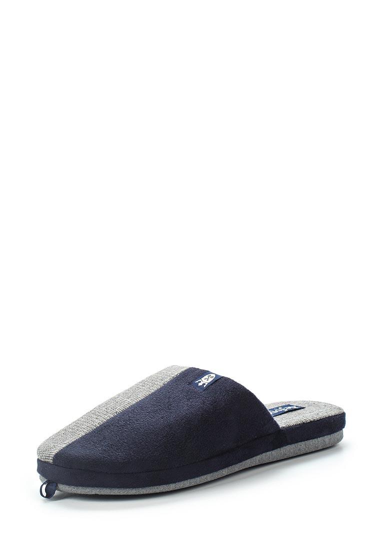 Мужская домашняя обувь De Fonseca ROMA TOP M210 BLU