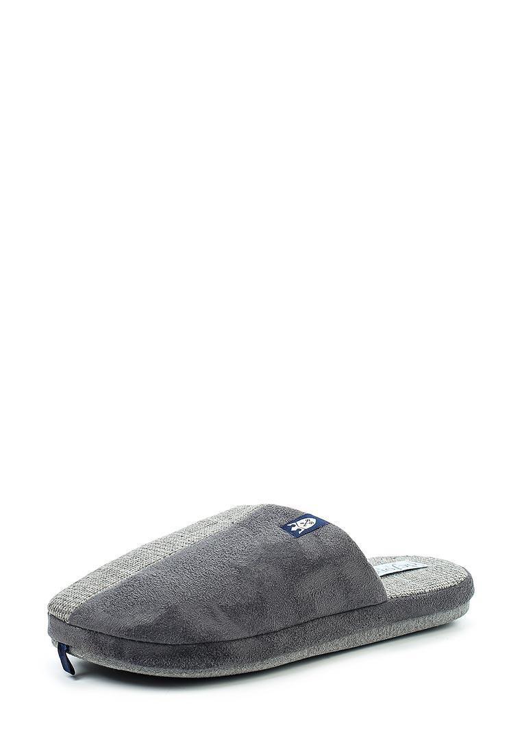 Мужская домашняя обувь De Fonseca ROMA TOP M210 GREY