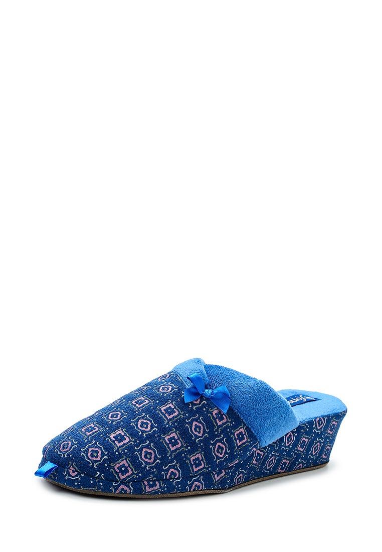 Женская домашняя обувь De Fonseca PALERMO W209 BLU