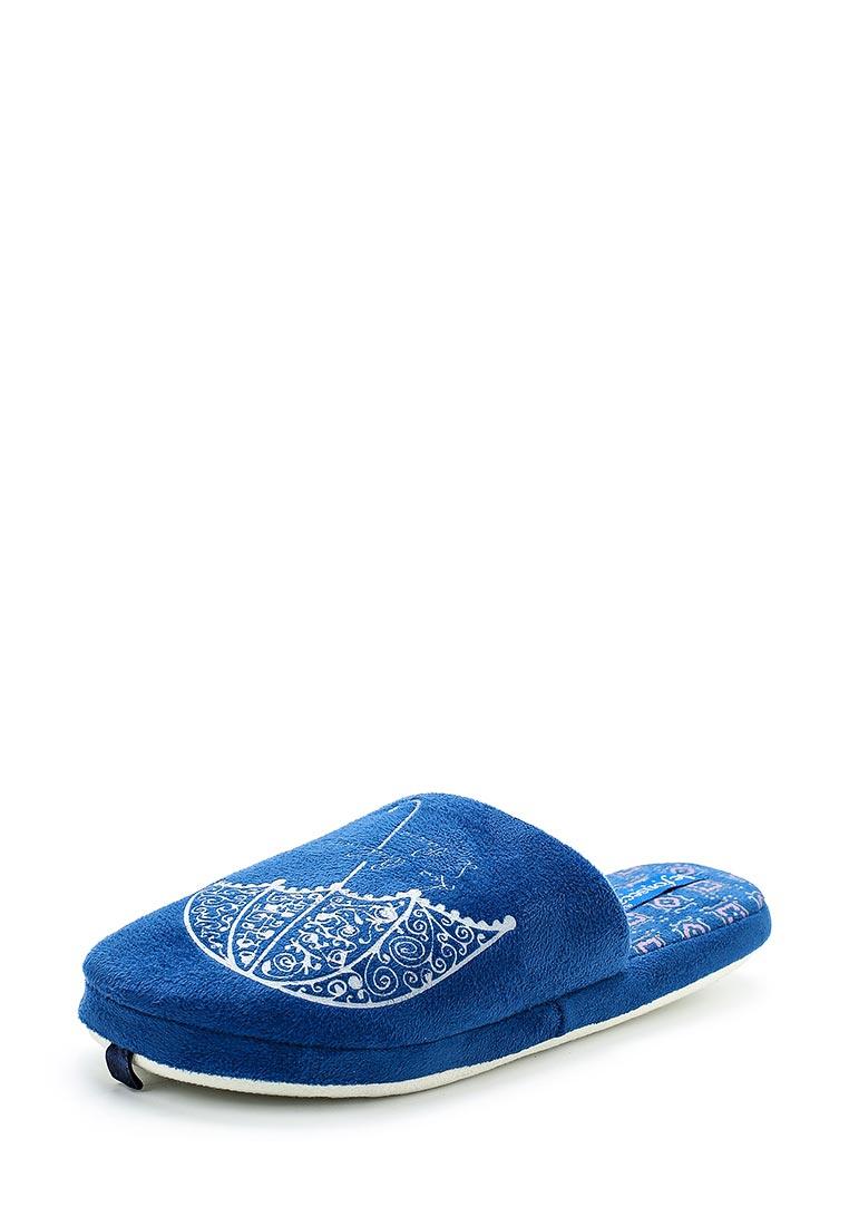 Женская домашняя обувь De Fonseca ROMA TOP W234 BLU