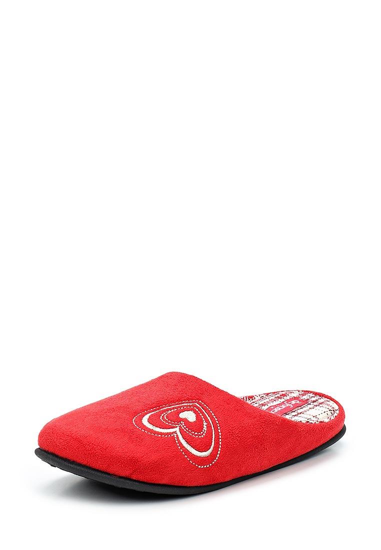 Женская домашняя обувь De Fonseca TORINO W216 RED