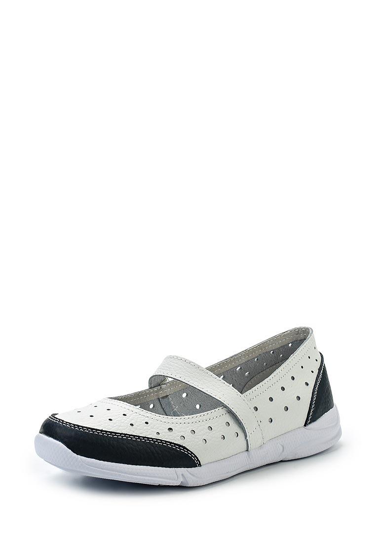 Туфли на плоской подошве Destra 6076-10-14-1131