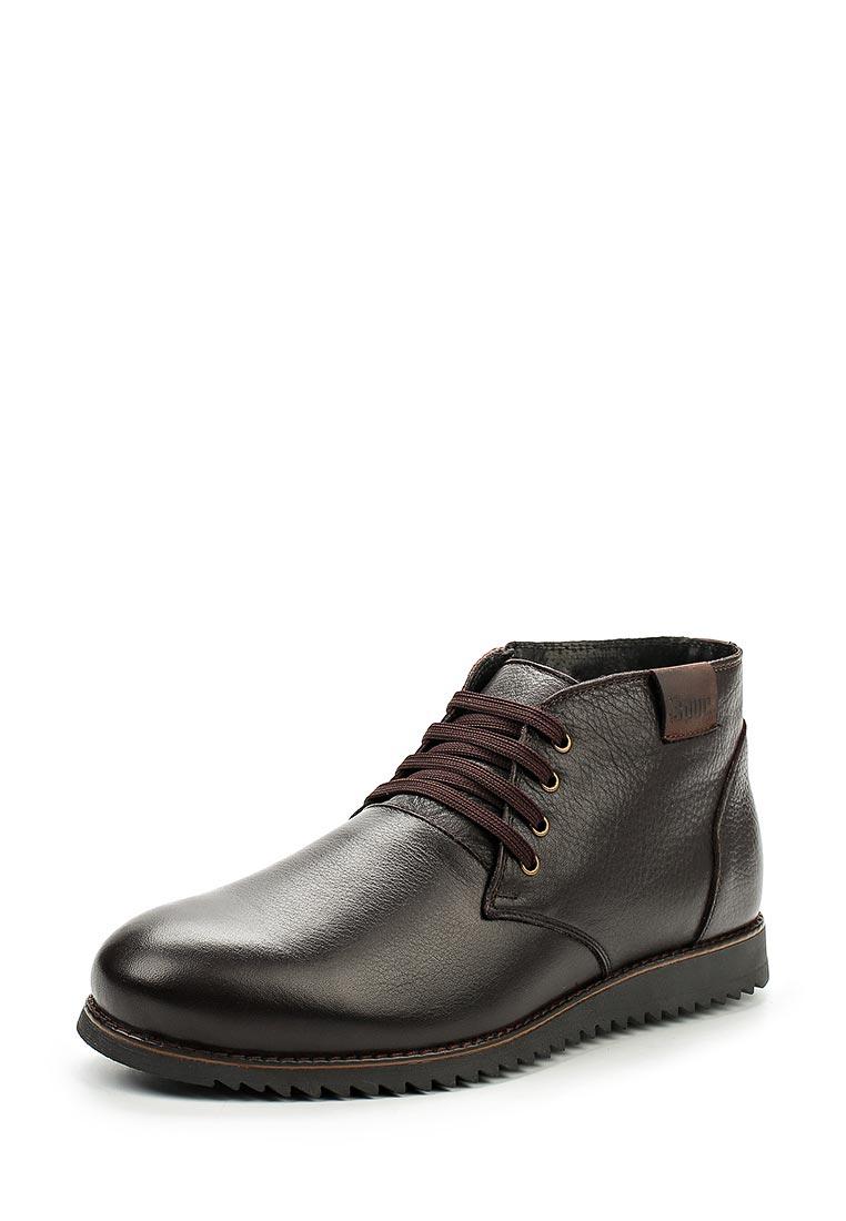 Мужские ботинки Der Spur RS5_419_2_BROWN