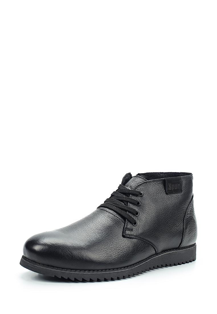 Мужские ботинки Der Spur RS5_419_2_ BLACK