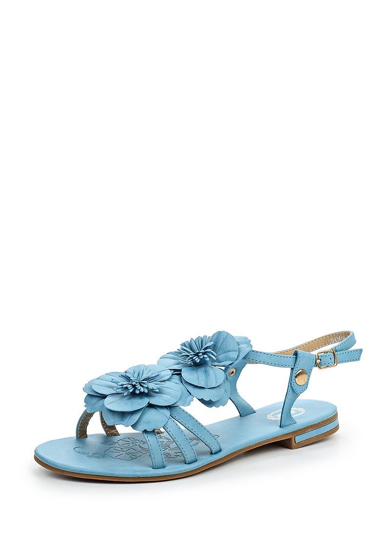 Женские сандалии Der Spur SM3808_01_19_BLUE