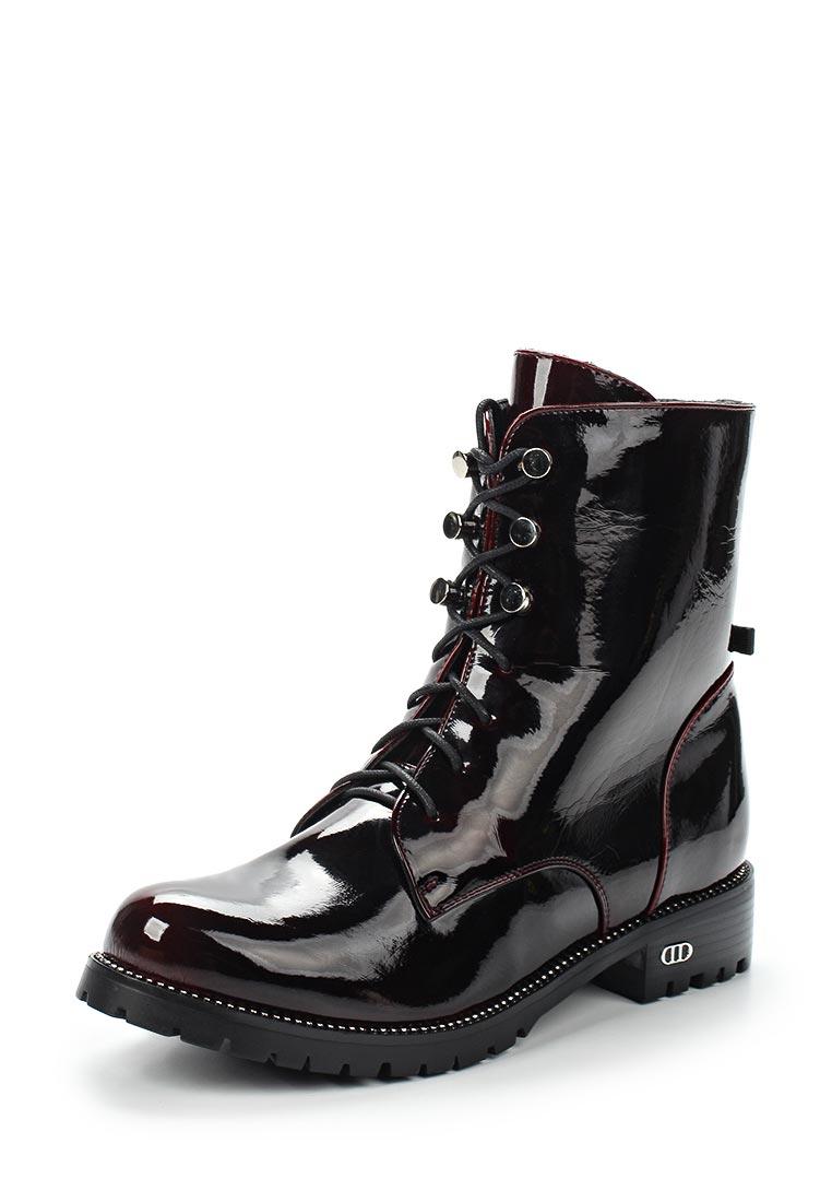 Женские ботинки Der Spur SM4203_03_07_BORDO