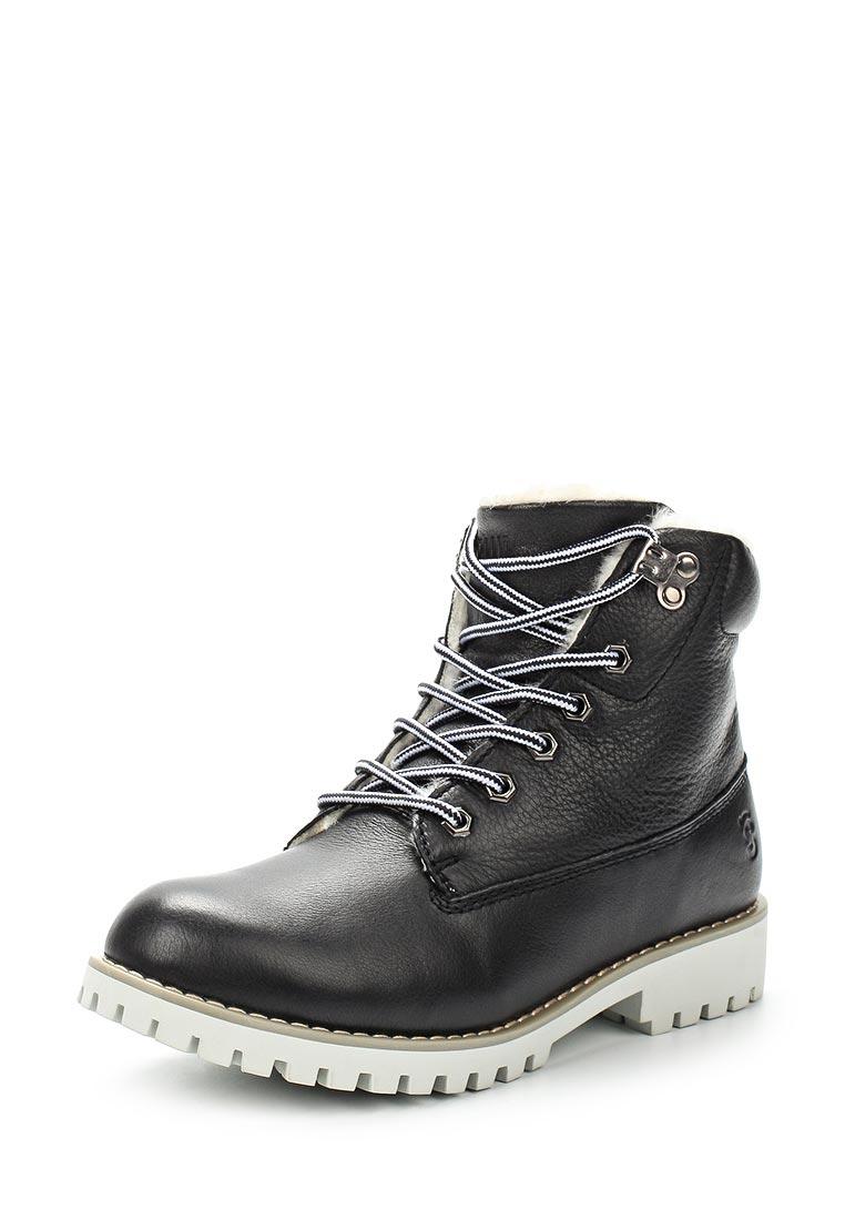 Женские ботинки Der Spur SM4057_52_01_BLACK