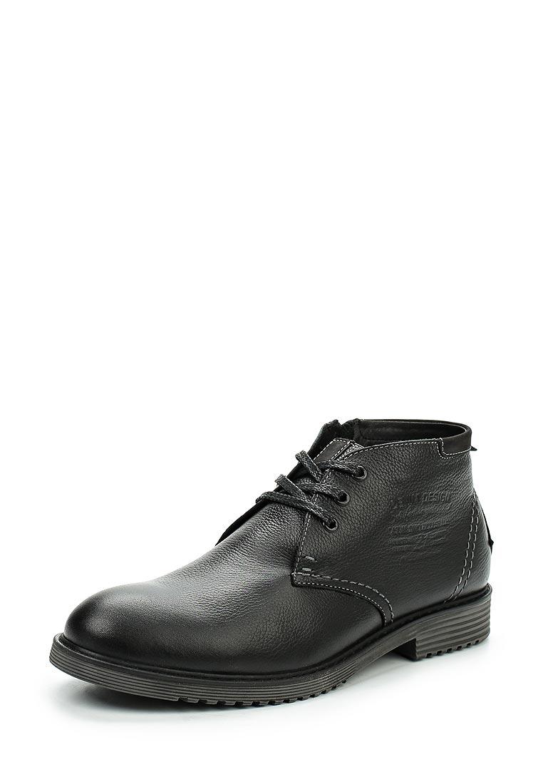 Мужские ботинки Dino Ricci (Дино Ричи) 517-10-01(W)