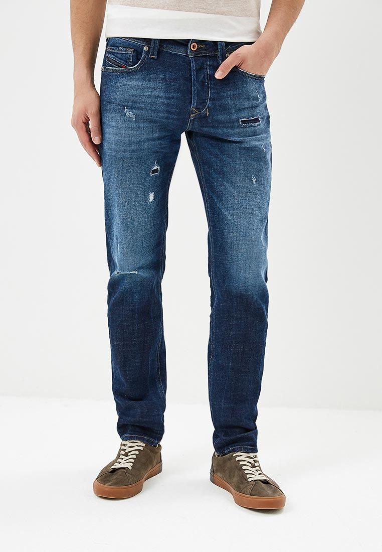 Мужские прямые джинсы Diesel (Дизель) 00SU1X084QT