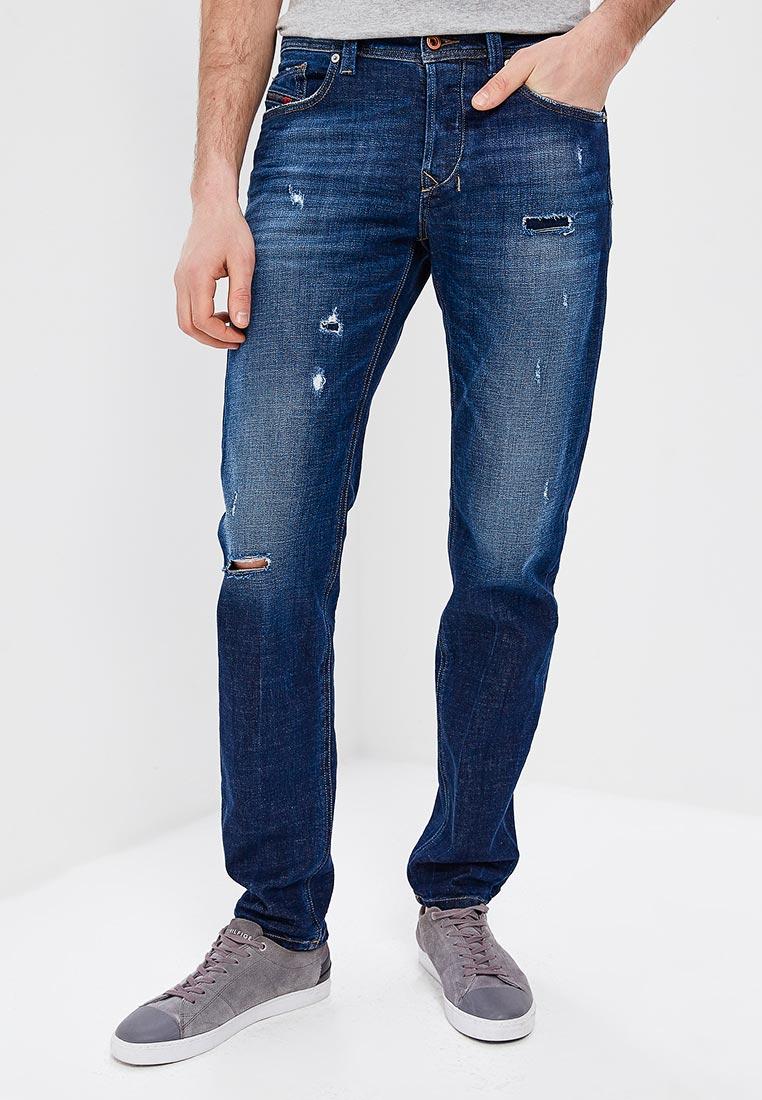 Мужские прямые джинсы Diesel (Дизель) 00SU1Y084QT