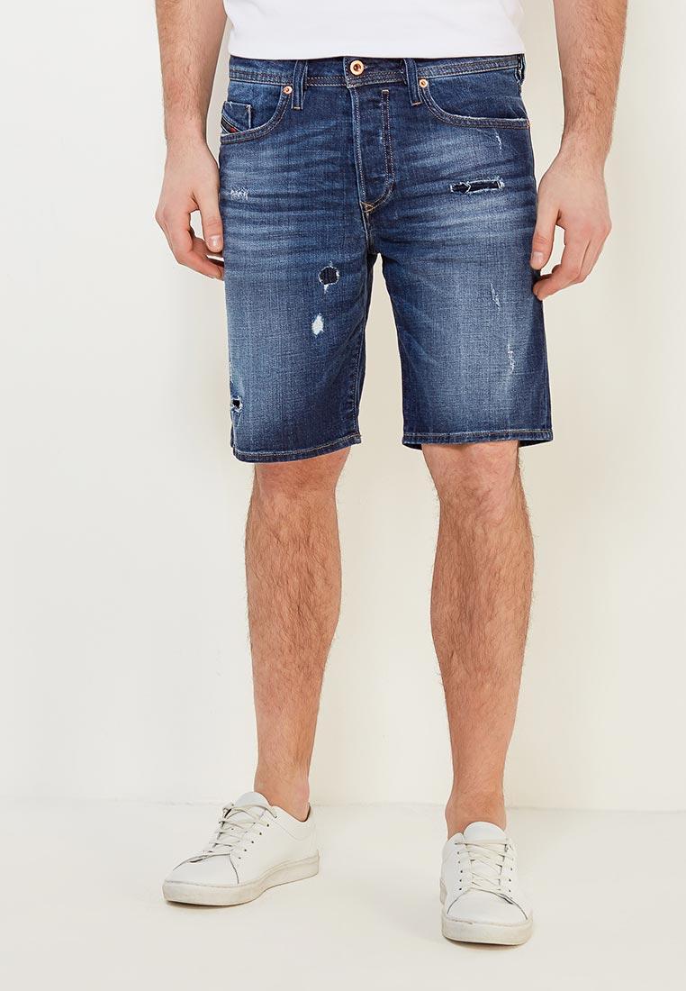 Мужские джинсовые шорты Diesel (Дизель) 00SPKE084QT