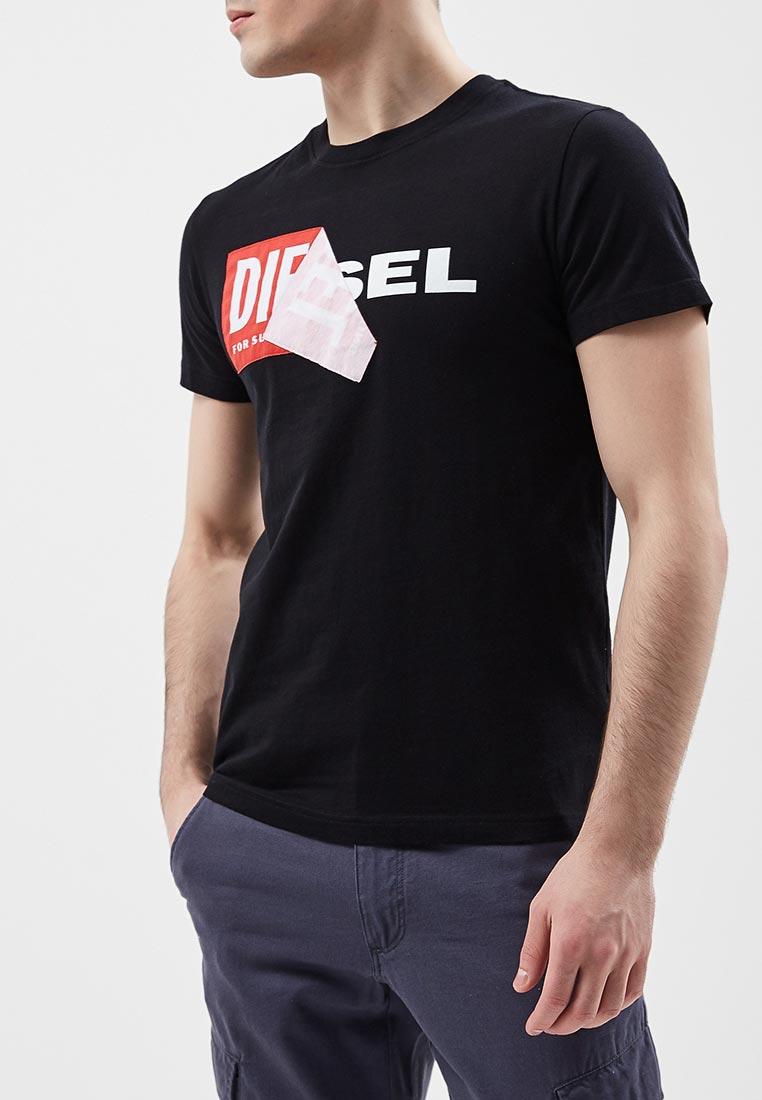 Футболка с коротким рукавом Diesel (Дизель) 00S02X0091B