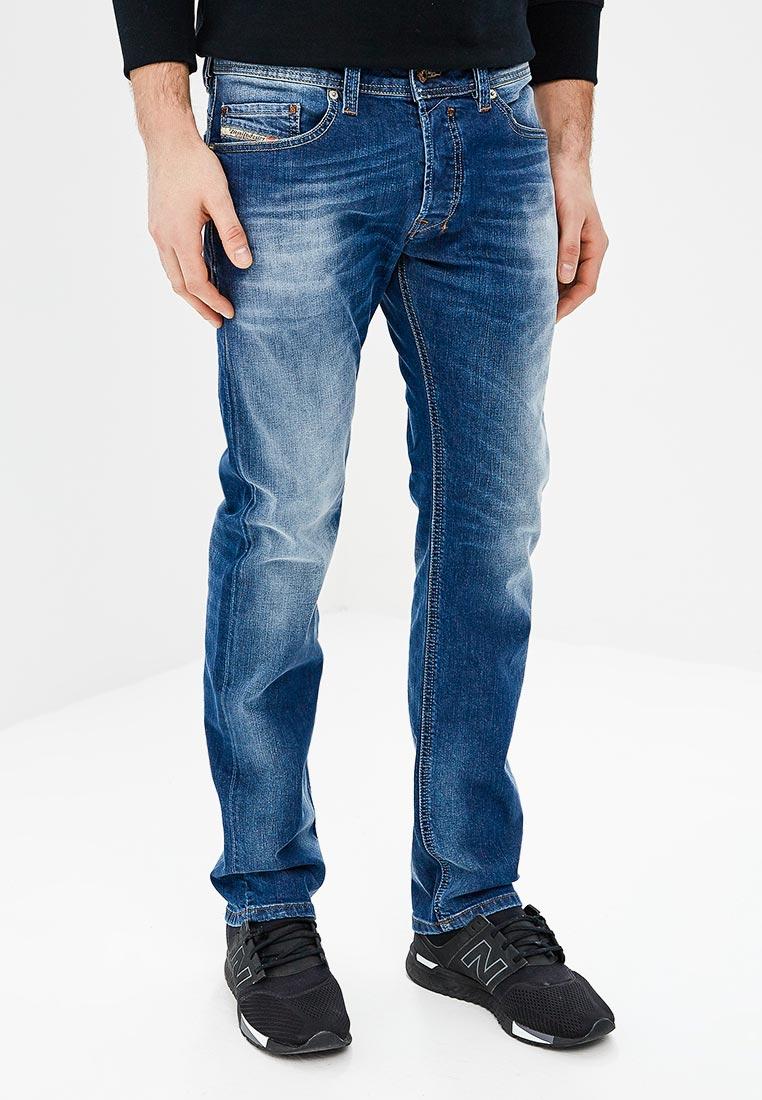 Мужские прямые джинсы Diesel (Дизель) 00C03F0840F