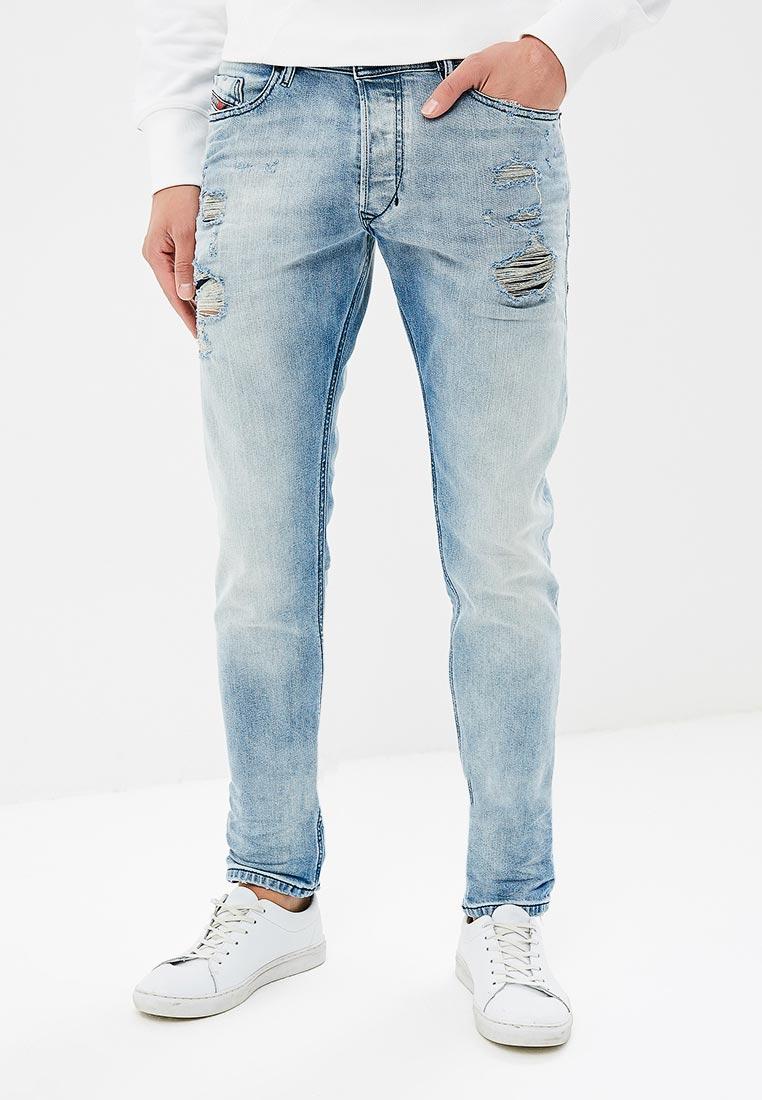 Зауженные джинсы Diesel (Дизель) 00CKRJ084DM