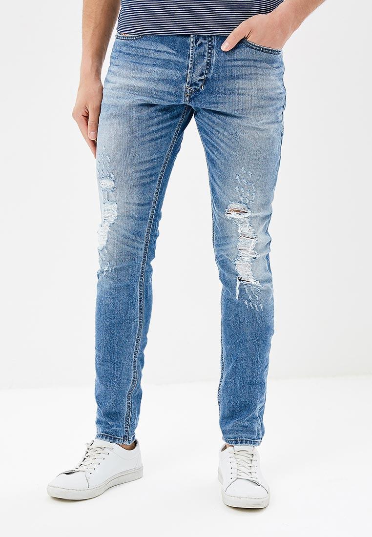 Зауженные джинсы Diesel (Дизель) 00CKRJ084FT