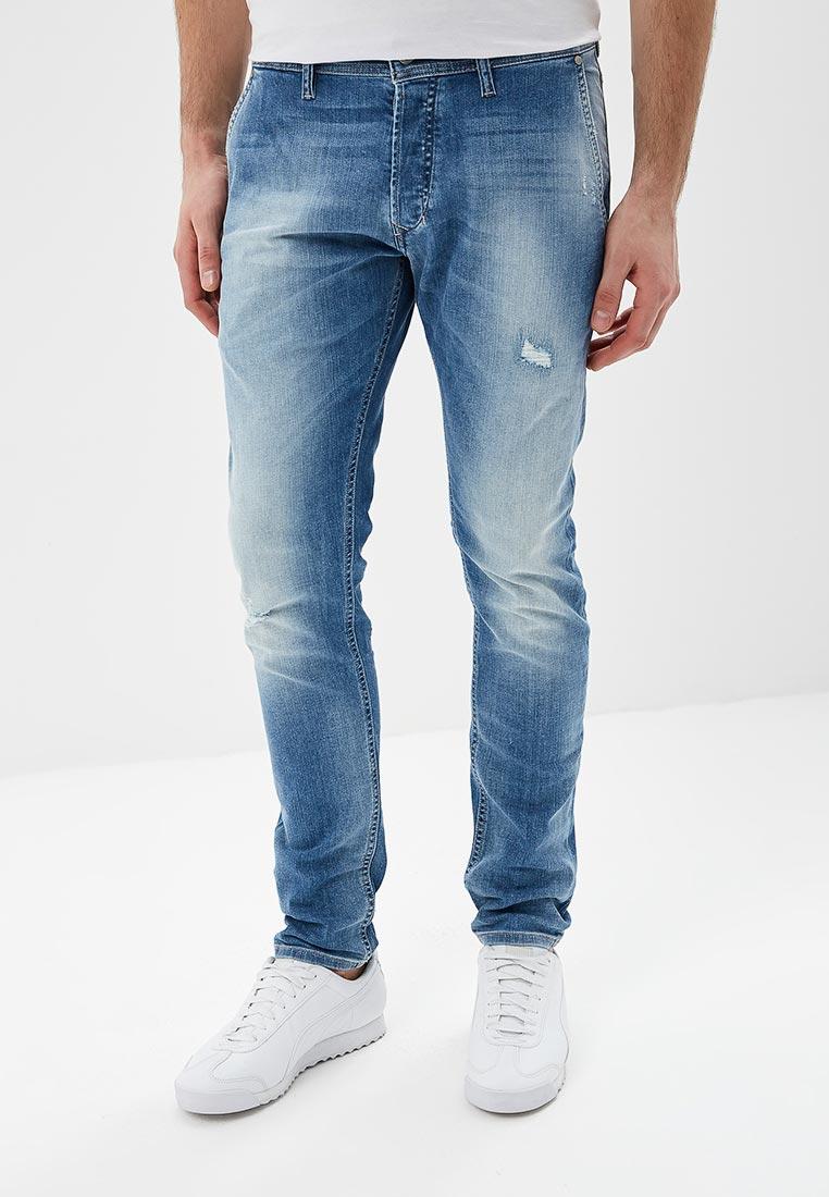 Зауженные джинсы Diesel (Дизель) 00CQ9H0681W