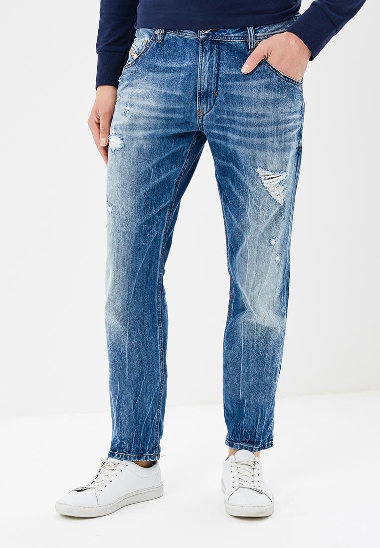 Мужские прямые джинсы Diesel (Дизель) 00S5A4R831I