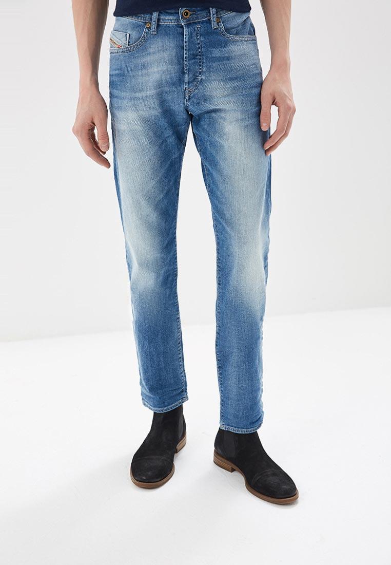 Мужские прямые джинсы Diesel (Дизель) 00SDHC0685C